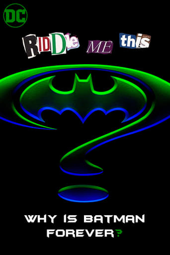 Poster of Riddle Me This: Why is Batman Forever?