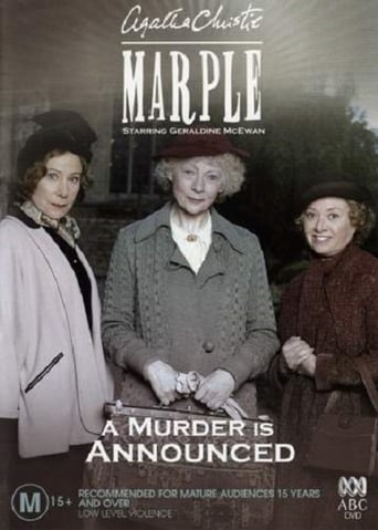 Poster of A Murder is Announced