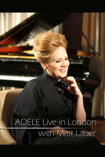Poster of Adele: Live in London with Matt Lauer