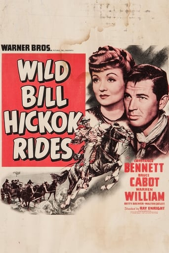 Poster of Wild Bill Hickok Rides