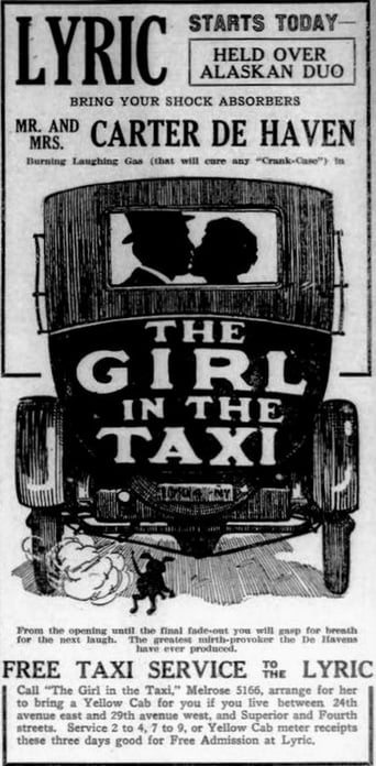 Poster of The Girl in the Taxi
