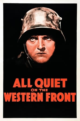 Poster of All Quiet on the Western Front