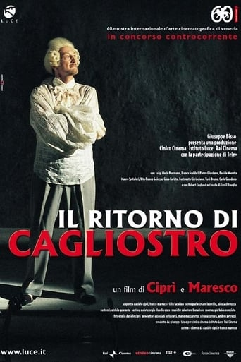 Poster of The Return of Cagliostro