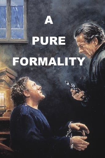 Poster of A Pure Formality