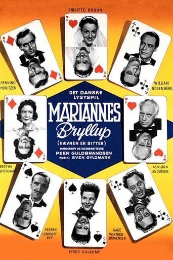 Poster of Mariannes bryllup