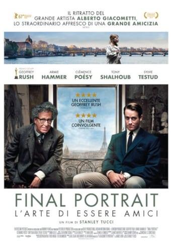Poster of Final Portrait - L'arte di essere amici