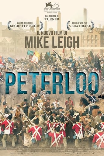 Poster of Peterloo