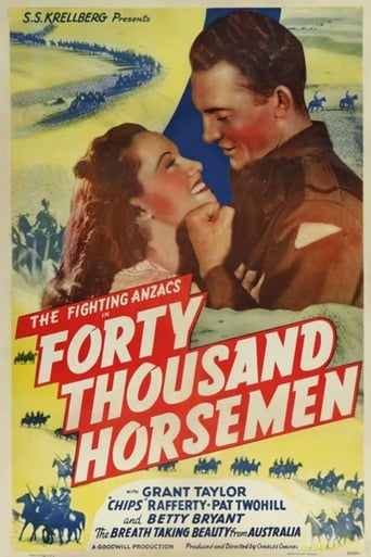 Poster of Forty Thousand Horsemen