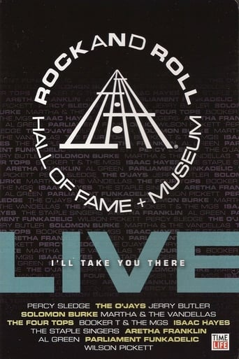 Poster of Rock and Roll Hall of Fame Live: I'll Take You There