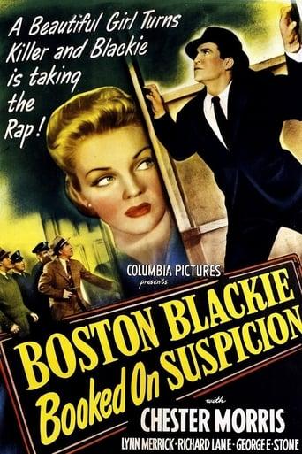 Poster of Boston Blackie Booked on Suspicion
