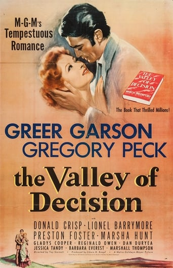 Poster of The Valley of Decision