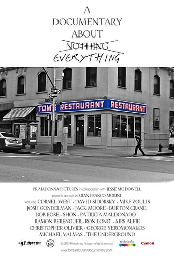 Poster of Tom's Restaurant - A Documentary About Everything