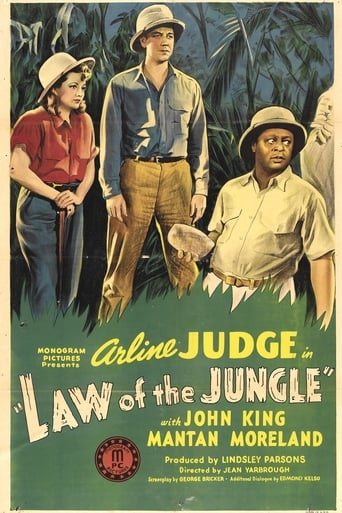 Poster of Law of the Jungle