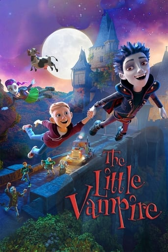 Poster of The Little Vampire 3D