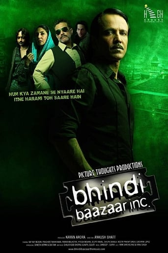 Poster of Bhindi Baazaar Inc