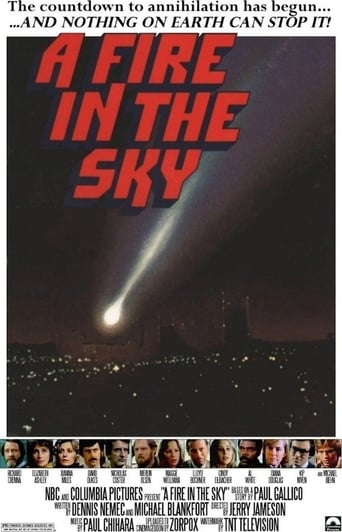 Poster of A Fire in the Sky