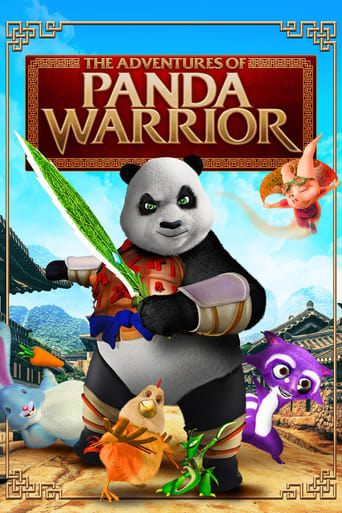 Poster of The Adventures of Panda Warrior