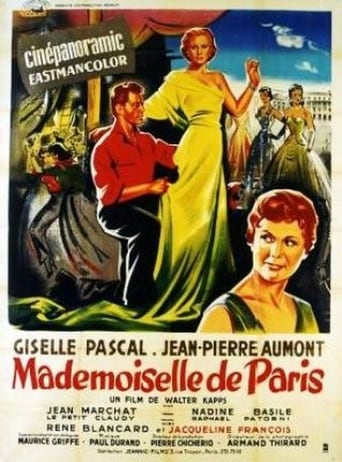 Poster of Mademoiselle from Paris