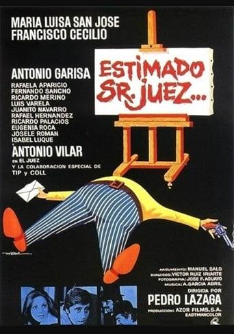 Poster of Estimado Sr. juez...