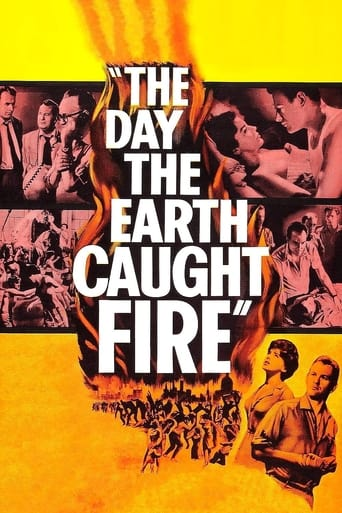 Poster of The Day the Earth Caught Fire