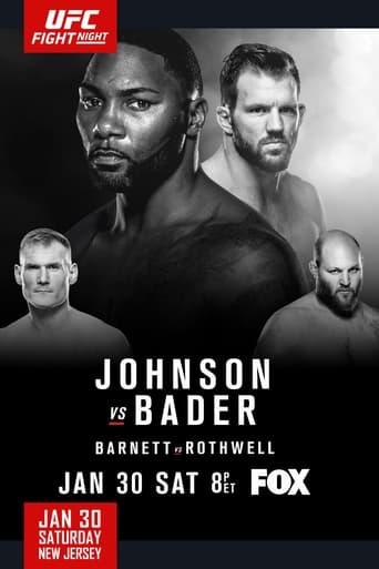 Poster of UFC on Fox: Johnson vs. Bader