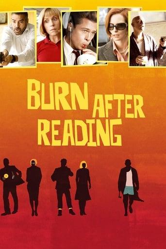 Filmposter von Burn After Reading