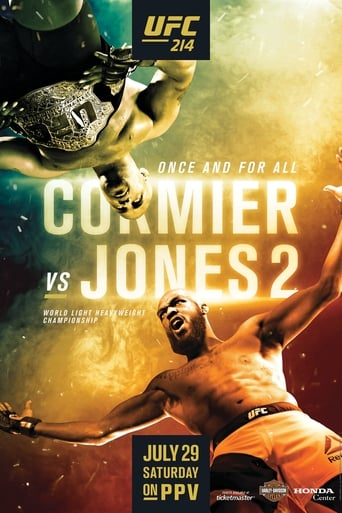 Poster of UFC 214: Cormier vs. Jones 2