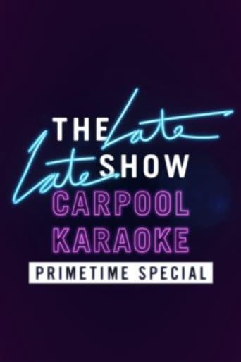 Carpool Karaoke Primetime Special 2017 poster