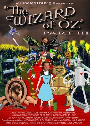 The Wizard of Oz 3: Dorothy Goes to Hell Poster