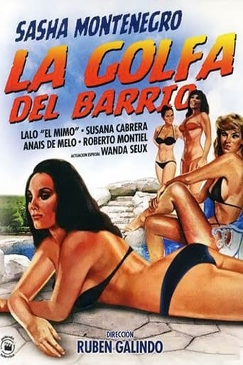 Poster of La golfa del barrio