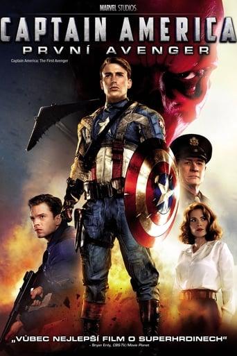 Poster of Captain America: První Avenger