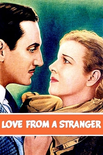 Poster of Love from a Stranger