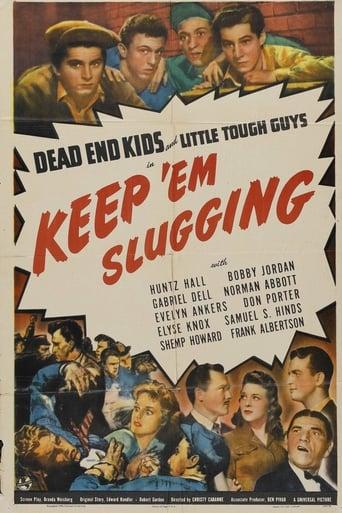 Poster of Keep 'em Slugging