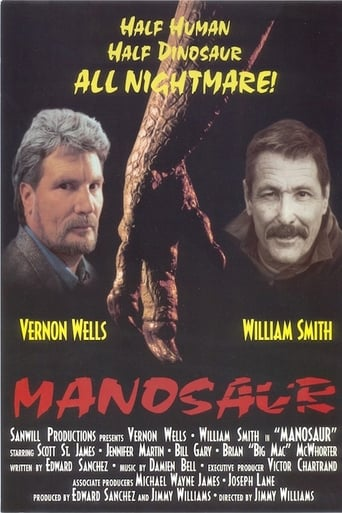 Poster of Manosaurus