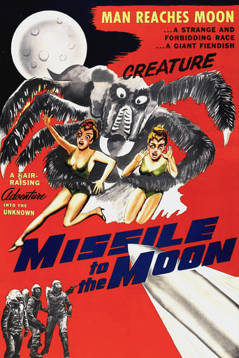 Poster of Missile to the Moon