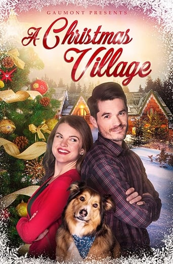 A Christmas Village poster