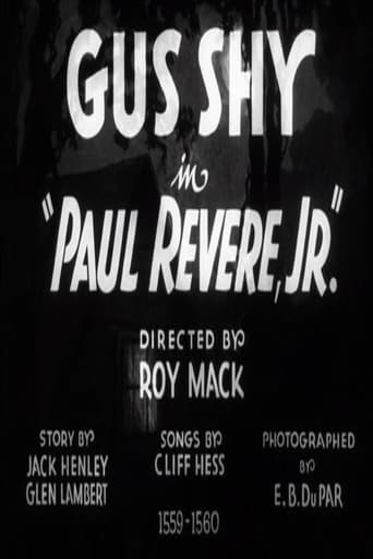 Poster of Paul Revere, Jr.