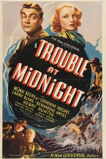 Poster of Trouble at Midnight