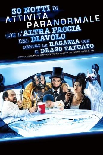 Poster of 30 Notti di Attività Paranormale con L'altra Faccia del Diavolo dentro La Ragazza con il Tatuaggio del Drago