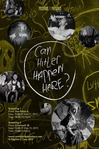 Poster of Can Hitler Happen Here?