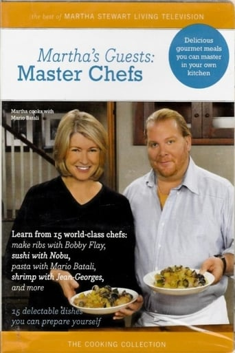Poster of Martha's Guests: Master Chefs
