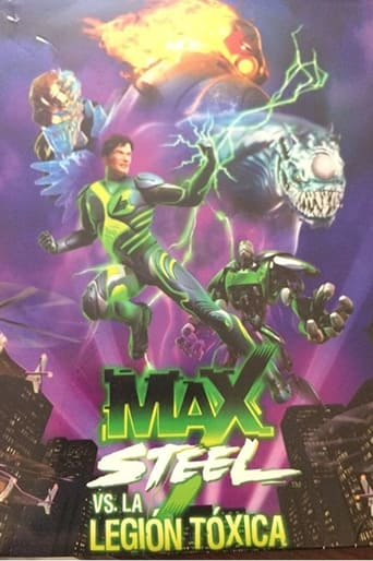Poster of Max Steel vs The Toxic Legion