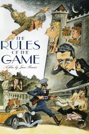 La Règle du jeu Poster