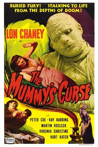 Poster of The Mummy's Curse