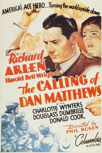 Poster of The Calling of Dan Matthews