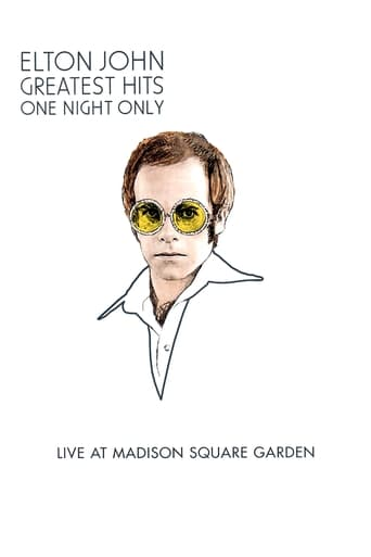 Poster of Elton John: One Night Only - The Greatest Hits