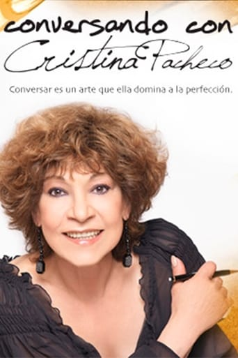 Poster of Conversando con Cristina Pacheco
