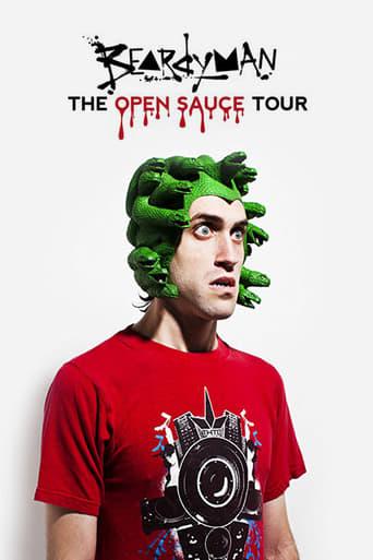 Poster of Beardyman - the Open Sauce Tour 2010