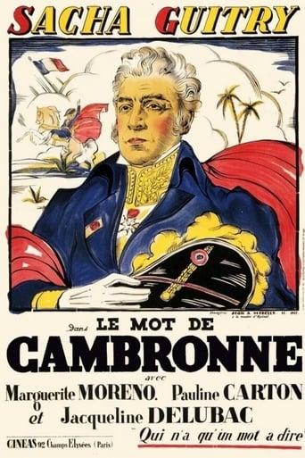 Le mot de Cambronne
