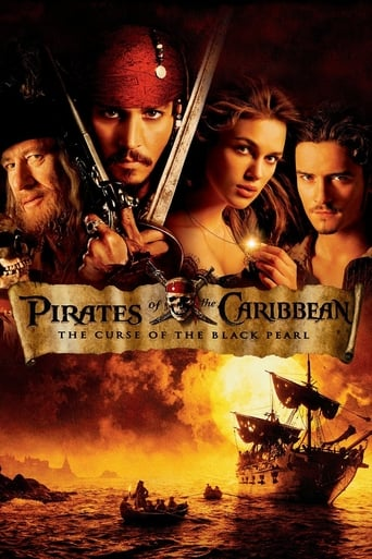 Poster of Pirates of the Caribbean: The Curse of the Black Pearl